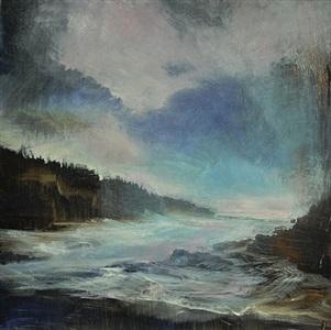 pas de deux of sea and sky by david allen dunlop