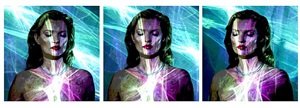 she's light (laser triptych) by chris levine
