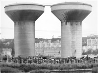 wassertürme in honfleur by bernd and hilla becher