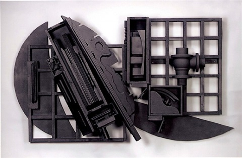 mirror-shadow xv1 by louise nevelson