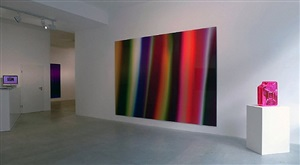 "view of installation marc rembold ""colours in love"" at laleh june galerie basel by marc rembold"