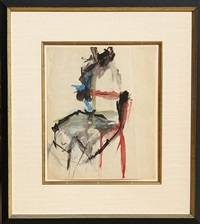 untitled - chair by willem de kooning