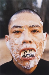 foam (5) by zhang huan