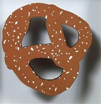 nyc, pretzel by claes oldenburg