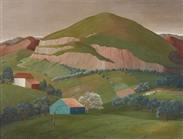 mountain in france by houghton cranford smith