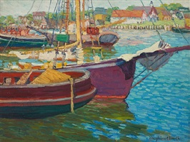 bowsprit, provincetown by houghton cranford smith