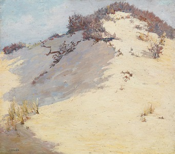sand dunes, provincetown by houghton cranford smith