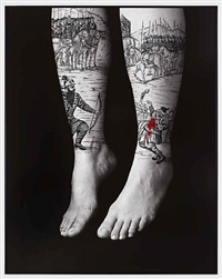 divine rebellion, from the book of kings series by shirin neshat