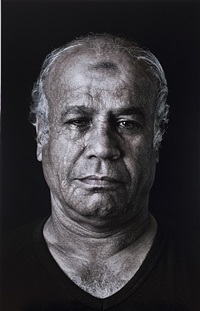 fathy (mourners), from the book of kings series by shirin neshat
