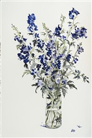 monkshood, october by susan headley van campen