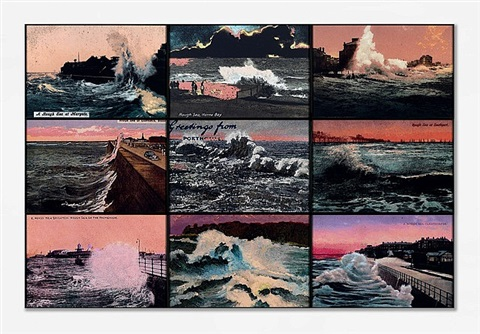 rough sunsets by susan hiller