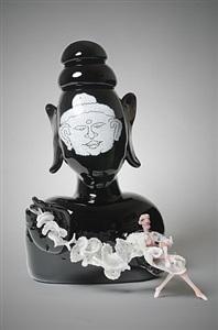 buddha (wind) by joyce j. scott