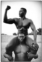 from the series wrestlers by philippe bordas