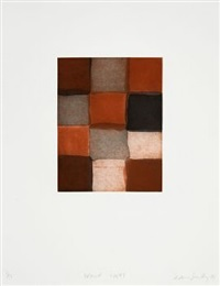 brown night by sean scully