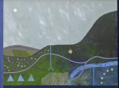 blackstairs mountain pool by tim woolcock