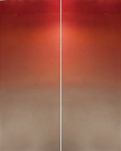 meditation red by miya ando