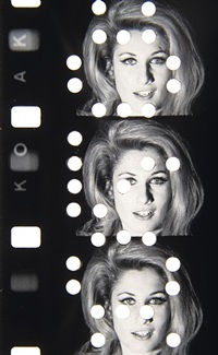 """baby jane"" (jane holzer) at warhol factory, dec. 1964 by jonas mekas"