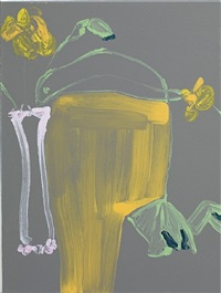 nasturtiums after georgie (ii) by gary hume