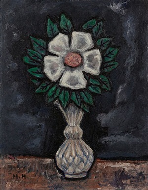 wild rose by marsden hartley