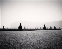 south parterre, versailles, france by michael kenna