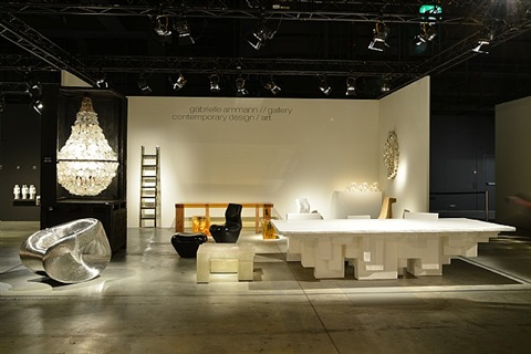exhibition view design miami/basel 2013