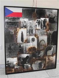a flag by milan knizak