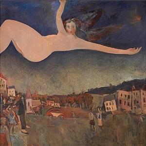 falling angel – evening star by glen preece
