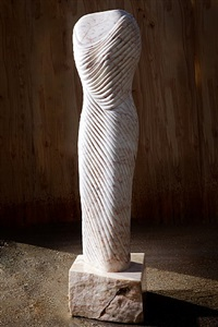 portuguese cloth torso 1 by paul vanstone
