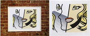 untitled (head) by roy lichtenstein