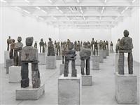 exhibition view by ugo rondinone