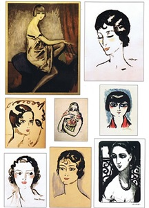 kees van dongen highlights from the graphic oeuvre by kees van dongen
