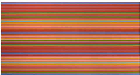 rose light by bridget riley