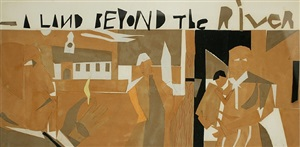 a land beyond the river by romare bearden