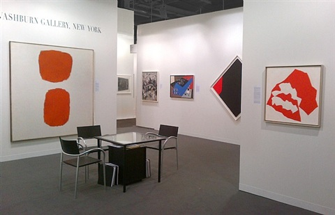 basel in new york, installation view