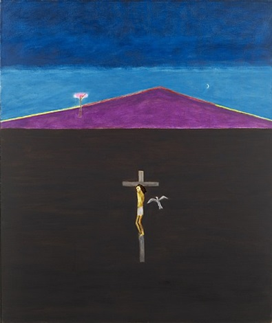 crucifixion by craigie aitchison