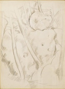 woods, lovely, dark, and deep by marsden hartley