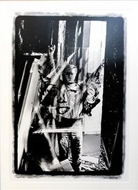 warhol holding marilyn acetate by william john kennedy