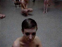 performance by vanessa beecroft