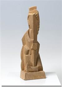 femme à l'oiseau by henri laurens
