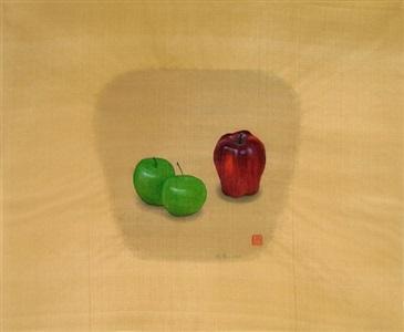 apples #2-1 by yang yi