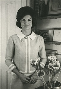 jacqueline kennedy by lucien clergue