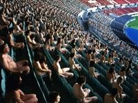 austria 5 (ernst happel stadion, kunsthalle wien) by spencer tunick