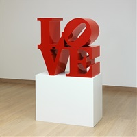 love (red red) by robert indiana