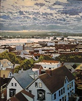 view of casco bay bridge by robert a. wieferich