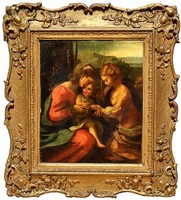 the mystic marriage of saint catherine by correggio