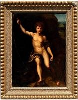 saint john in the wilderness by raphaël