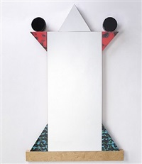 the diva mirror by ettore sottsass