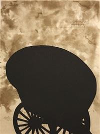 black cart by martin puryear