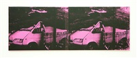 small transit disaster pink by gavin turk