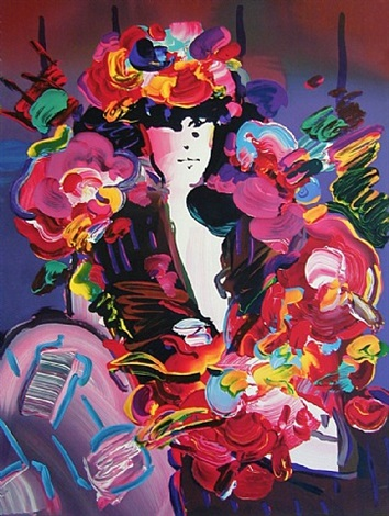 brown lady ii by peter max
